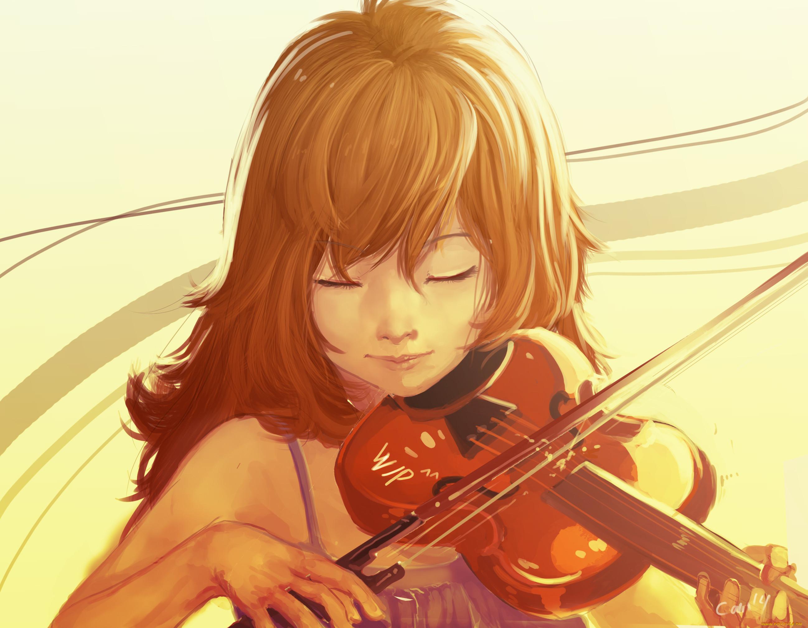 Аниме со скрипкой картинки
